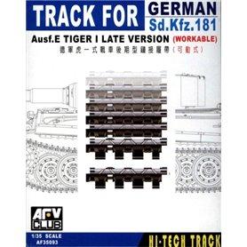 AFV Club AF35093 Track For Tiger Late Workable