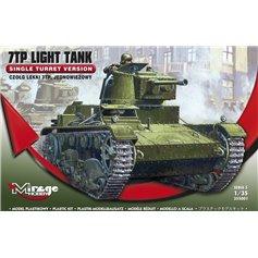 Mirage 1:35 7TP LIGHT TANK / czołg jednowieżowy