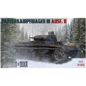 IBG The World At War No006 PzKpfw III Ausf.B