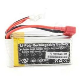 Pakiet LiPol 3E Model 1300mAh 11,1V 15C