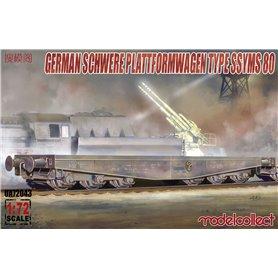 Modelcollect UA72043 Schwerer Plattformwagen Type