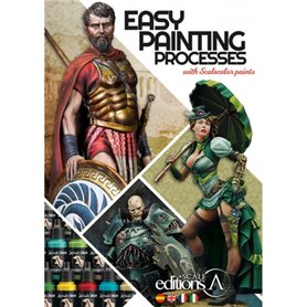 Scale 75 Książka EASY PAINTING PROCESES