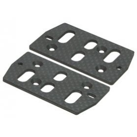 3Racing Graphite Servo Plate For AX10 Scorpion