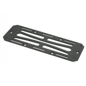 3Racing Graphite Battery Radio Tray Plate For AX10 Scorpion