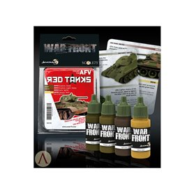 Scale 75 Zestaw farb RED TANKS Paint Set