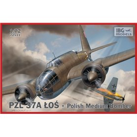 IBG 1:72 PZL 37A Łoś POLISH MEDIUM BOMBER