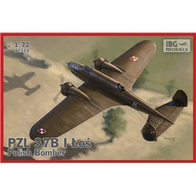 IBG 1:72 PZL 37B I Łoś POLISH MEDIUM BOMBER