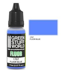 Green Stuff World Farba akrylowa FLUOR PAINT BLUE / 17ml