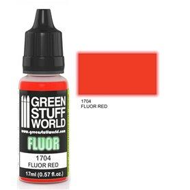 Green Stuff World Farba akrylowa FLUOR PAINT RED / 17ml