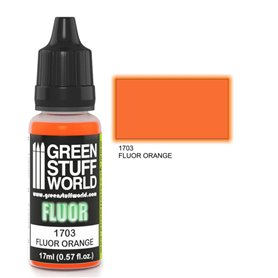 Green Stuff World Farba akrylowa FLUOR PAINT ORANGE / 17ml