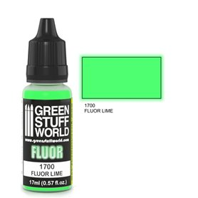 Green Stuff World Farba akrylowa FLUOR PAINT LIME / 17ml