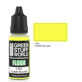Green Stuff World Farba akrylowa FLUOR PAINT YELLOW / 17ml