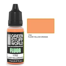 Green Stuff World Farba akrylowa FLUOR PAINT YELLOW-ORANGE / 17ml