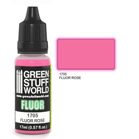 Green Stuff World Farba akrylowa FLUOR PAINT ROSE / 17ml