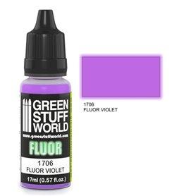 Green Stuff World Farba akrylowa FLUOR PAINT VIOLET / 17ml