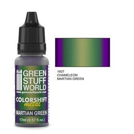 Green Stuff World Farba akrylowa CHAMELEON MARTIAN GREEN / 17ml