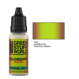 Green Stuff World Farba akrylowa CHAMELEON TROPICAL GREEN / 17ml