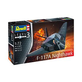 Revell 1:72 F-117 STEALTH FIGHTER | MODEL SET | w/paints |