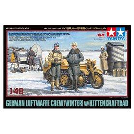 Tamiya 32412 German Luftwaffe Crew w/ Kettenrad