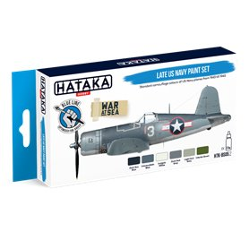 Hataka BLUE-LINE Zestaw farb LATE US NAVY