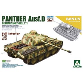 Takom 2103 Panther Ausf. D Early/Mid Full Int. 2-1