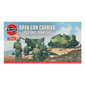 Airfix 01309V Bren Gun Carrier&6pdr Anti-Tank Gun