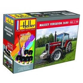 Heller 57402 Starter Set - Massey-Ferguson 2680