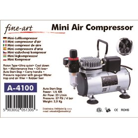 Fine Art FA-A4100 Kompresor z wentylatorem A4100