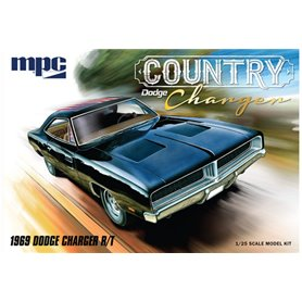 MPC 1:25 Dodge Country Charger R/T 1969