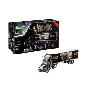 Revell 1:32 TRUCK AND TRAILER - AC/DC LIMITED COLLECTION