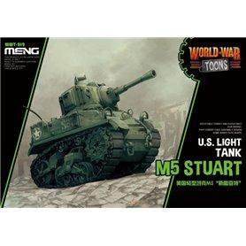 Meng WWT-012 World War Toons M5 Stuart