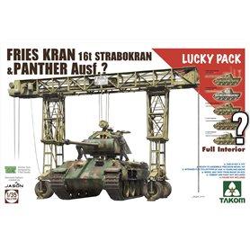 Takom 2108 Fries Kran 16t Strabokran w/Panther