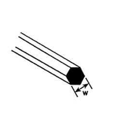 Pręty sześciokątne 5szt 250mm (0,5 – 2,1mm)