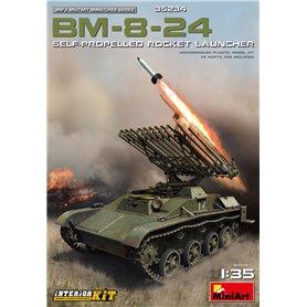 Mini Art 35234 BM-8-24 S-P Rocket Launcher w/int.