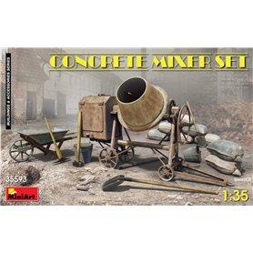 Mini Art 35593 Concrete Mixer Set