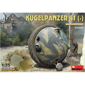 Mini Art 40006 Kugelpanzer 41(r) w/interior set