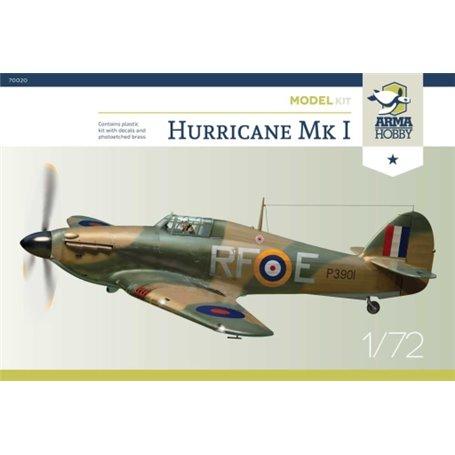 Eduard Zoom SS654 1//72 Hawker Hurricane Mk.I Arma Hobby