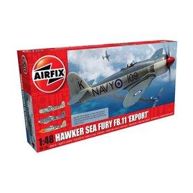 Airfix 1:72 Hawker Sea Fury FB.I - EXPORT EDITION