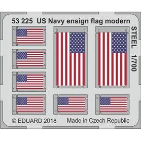 US Navy ensign flag modern STEEL
