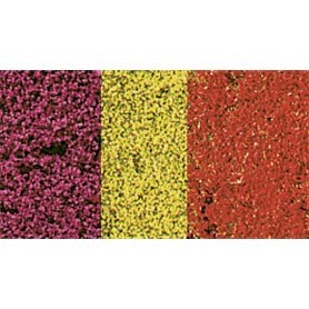 Kwiaty kolorowe 28x14 cm