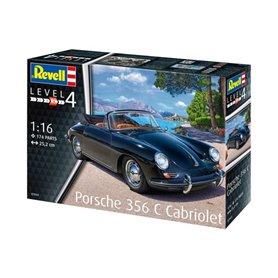 Revell 1:16 Porsche 356 Convertible