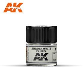AK Interactive REAL COLORS RC222 Insignia White - FS 17875 - 10ml