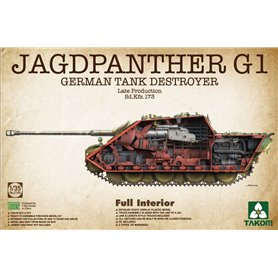 Takom2106Jagdpanther G1 Late Prod. Sd.Kfz.173