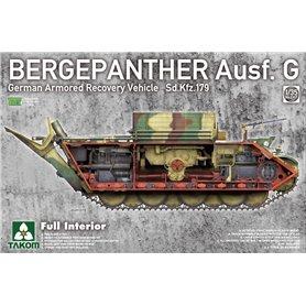 Takom 2107 Bergepanther Ausf. G - Full Interior