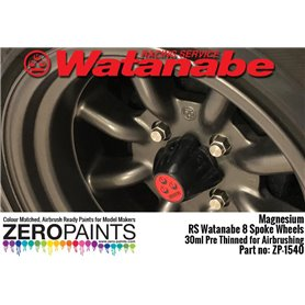 Zero Paints 1540 Magnesium Paint for RS Watanabe 8 Spoke 30ml