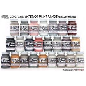 Zero Paints 4100 Interior Saddle Tan - 60ml