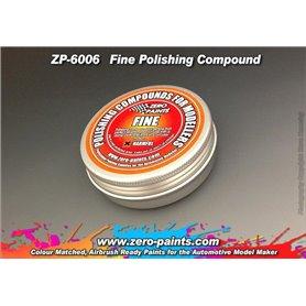 Zero Paints 6006 Polishing Compound Fine 60g