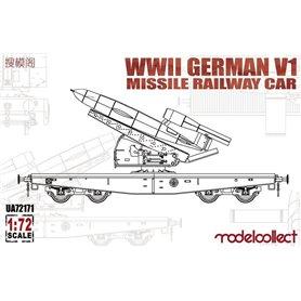 Modelcollect UA72171 Ger. V1 Missile Railway Car