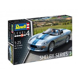 Revell 1:25 Shelby Series I - MODEL SET - w/paints