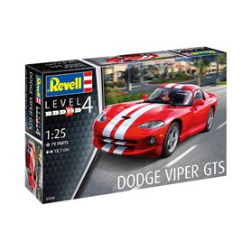 Revell 1:25 Dodge VIper GTS - MODEL SET - w/paints